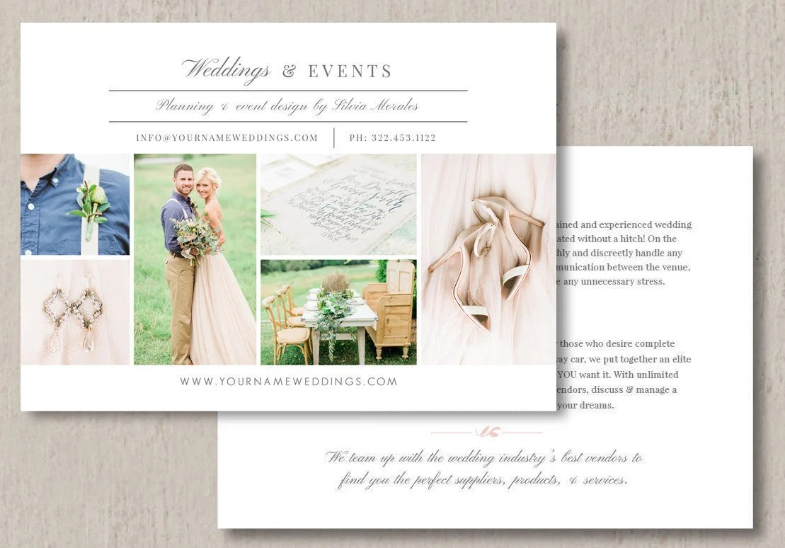 wedding planner flyers designs  wedding planner flyer