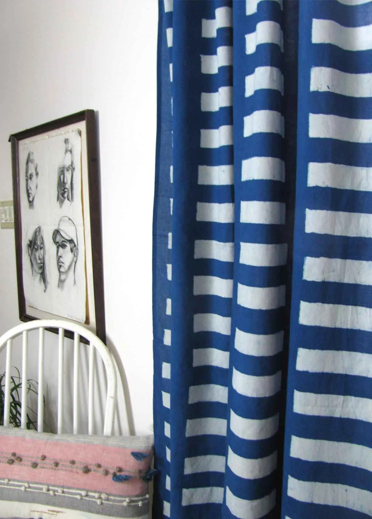 Bedroom Curtains Sale Navy Blue Curtains Panels Window Treatments Sample Sale Window Curtains Bedroom Modern Home Decor Block Print Ichcha One Panel Streets