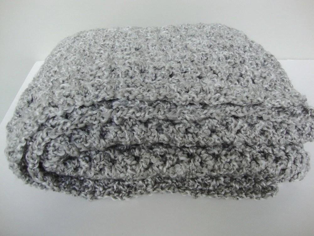 Crochet Shawl Crocheted Shawls Gray Shawl Shawl Crochet Etsy