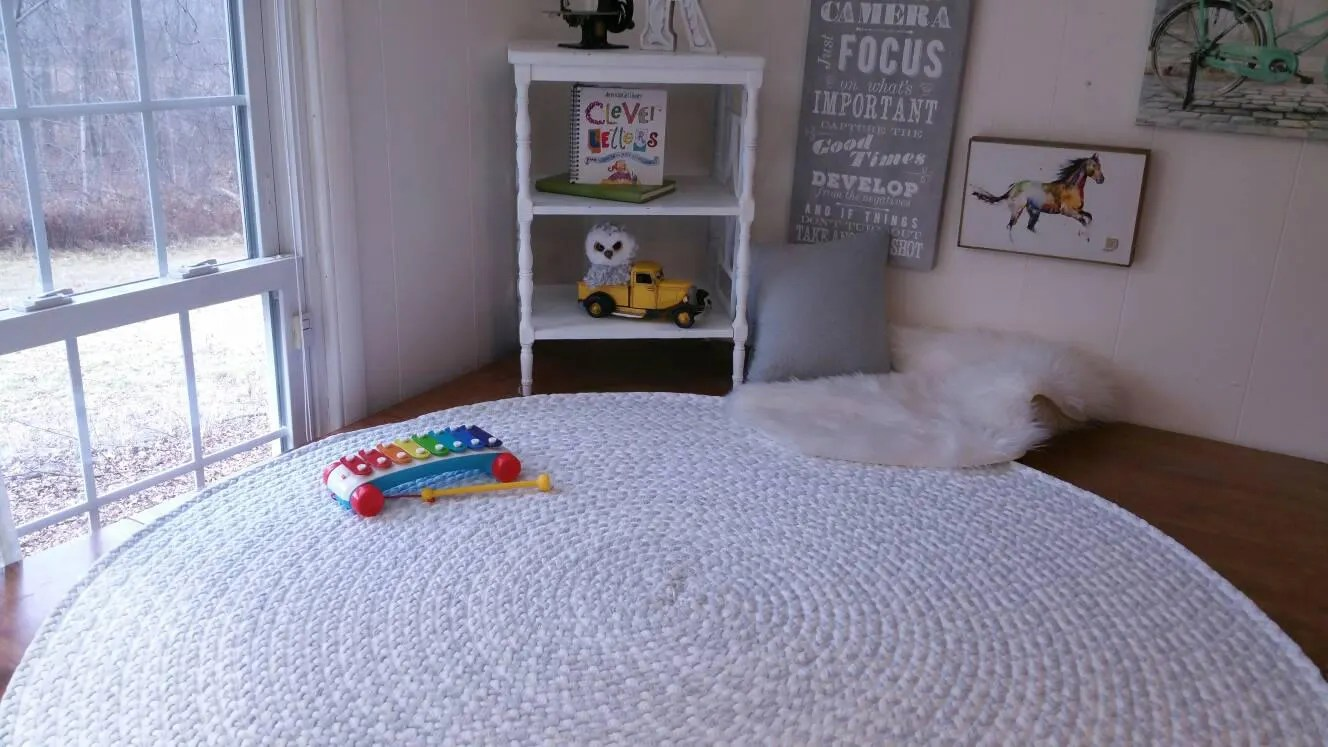 Nursery Rugs Australia Light Ash Gray And White Braided Nursery Rug From Cotton T Shirts
