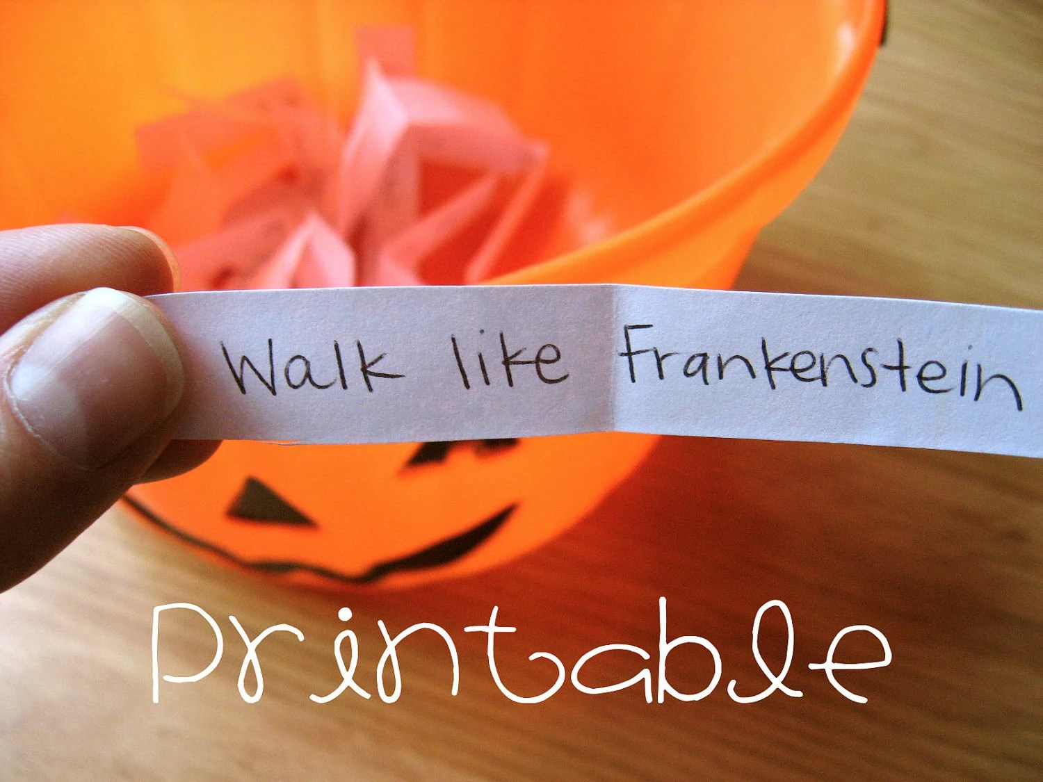Printable PDF Halloween Charades Party Game Idea Etsy