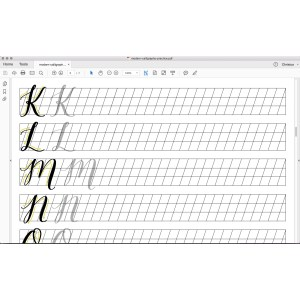 Splendid This Is A Digital File Calligraphy Practice Sheet Downloadable Calligraphy Calligraphy Practice Sheets Free Calligraphy Practice Sheets