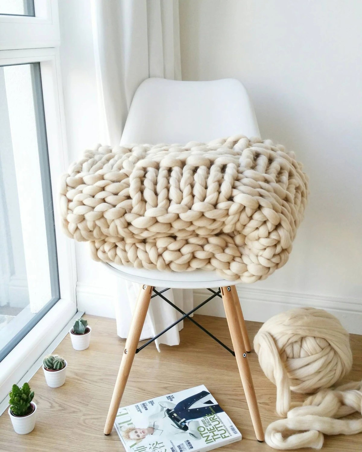 Sofa Bed Giant Malaysia Sale Chunky Knit Blanket Luxury Bed Runner Giant Cream Throw