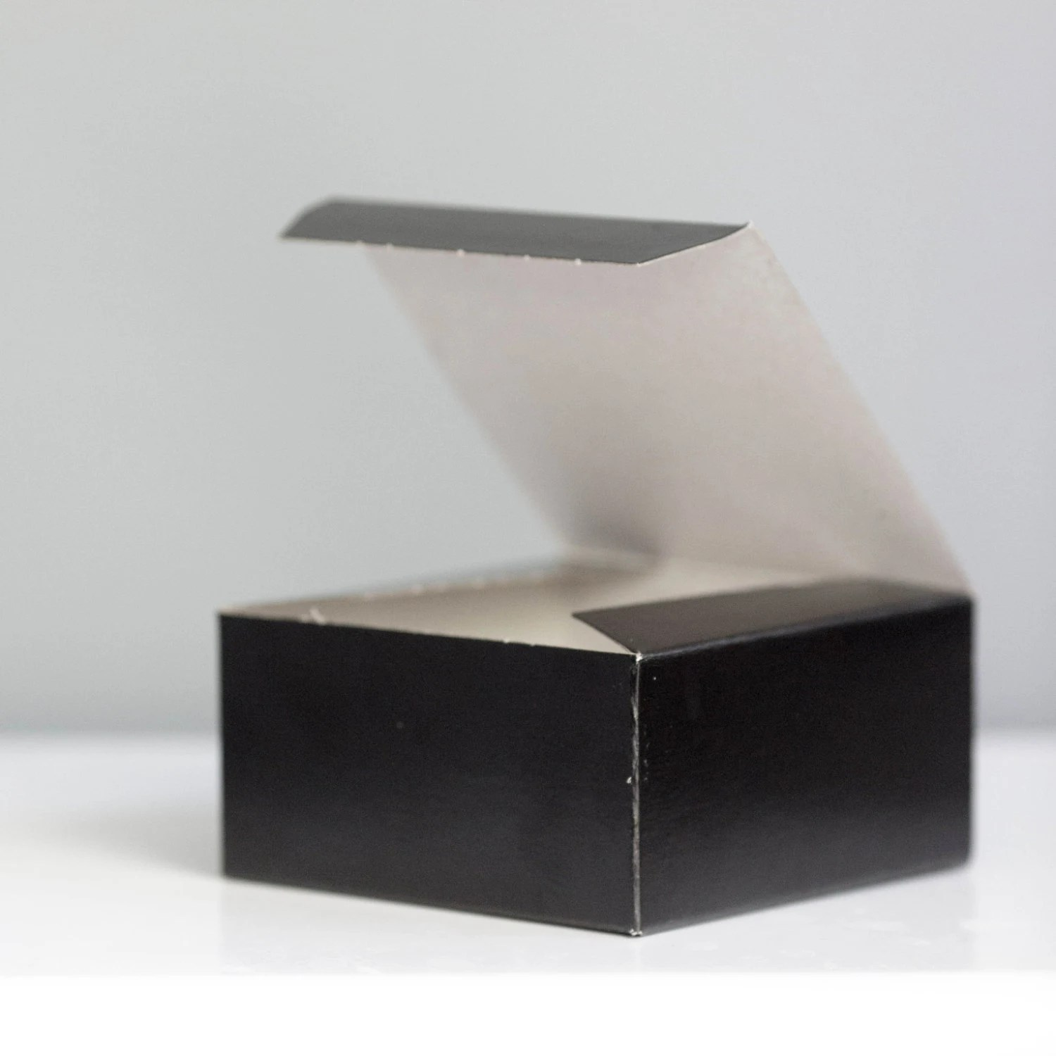Black Gift Boxes Black Gift Boxes Set Of 10 4x4x2 Inch Black Tie Event Favor Box New Years Eve Box Little Black Box Valentines Day Gift Box