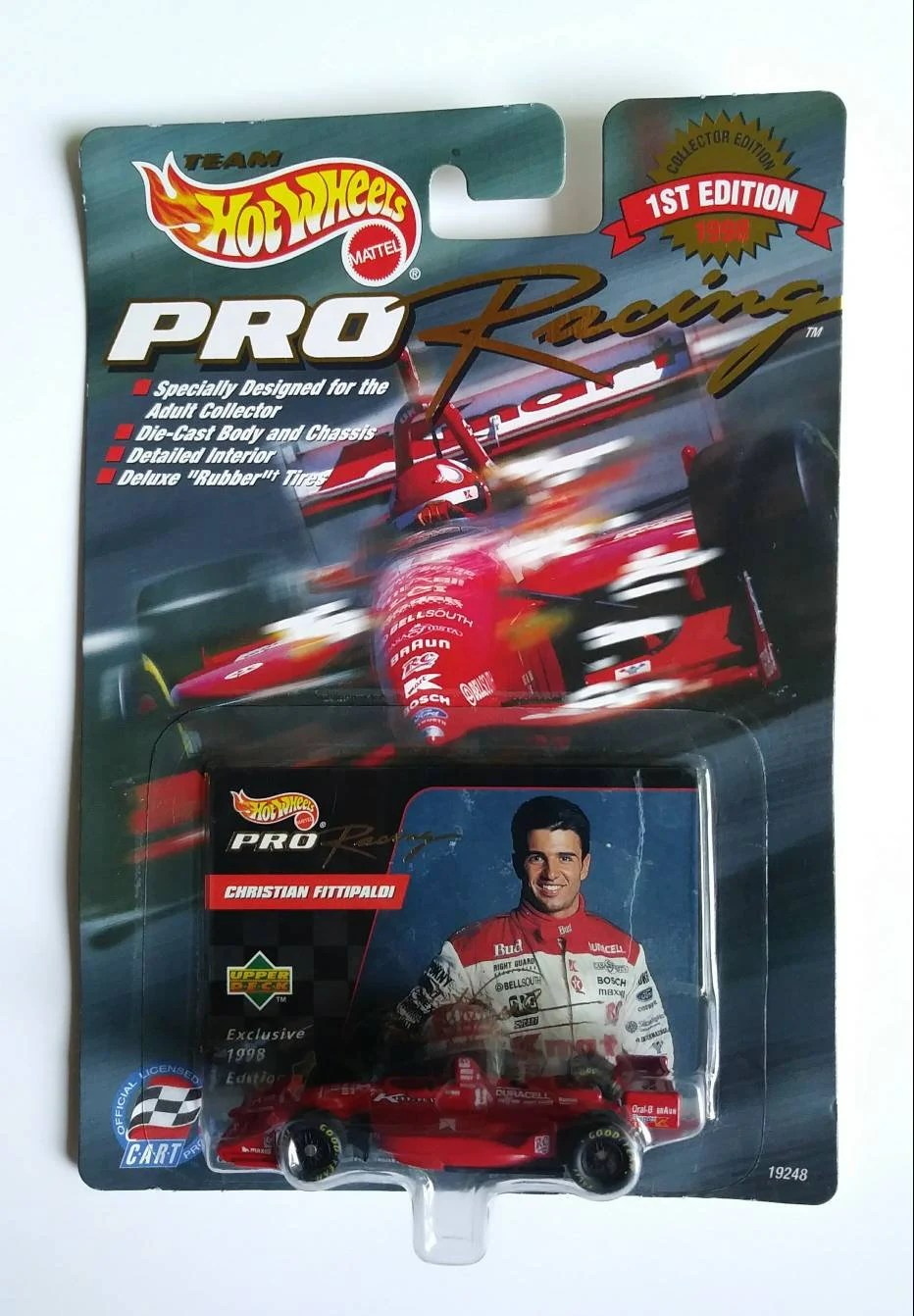 Candle Making Kit Kmart Christian Fittipaldi Hot Wheels Pro Racing 11 Kmart Indy Cart