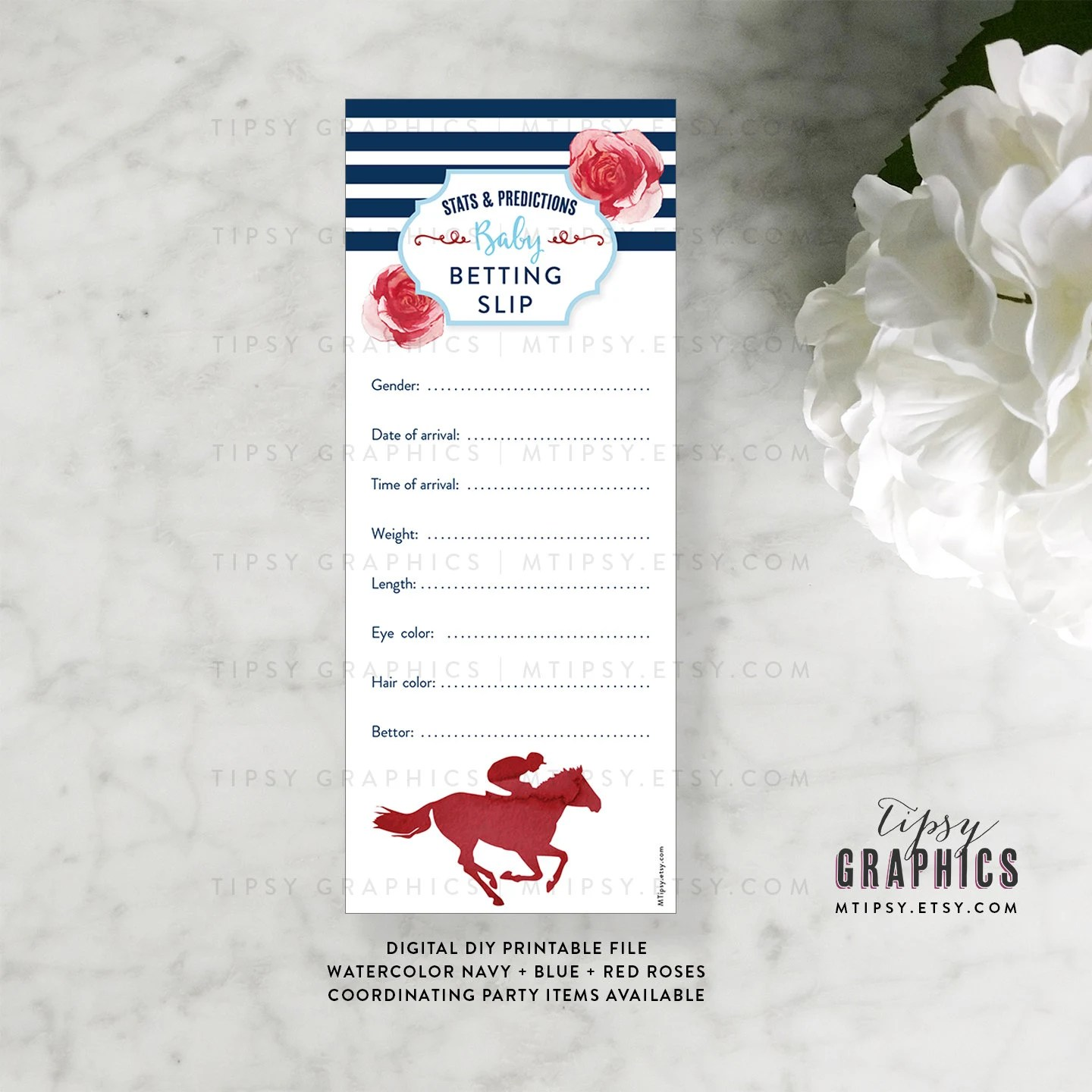 Derby Baby Betting Slip Stats  Predictions Kentucky Derby Race