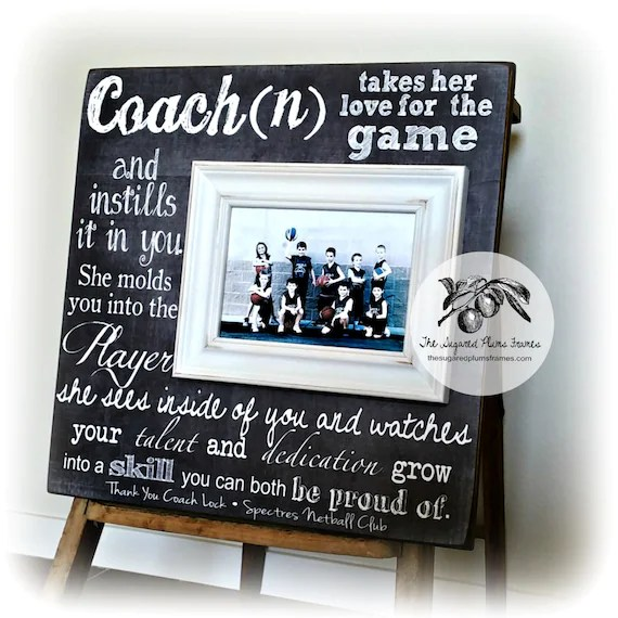 Personalized Coach Thank You Gift, Coach Gift Ideas, Basketball