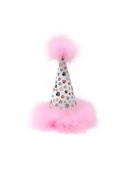 Dog Party Hat Birthday Paw Print Light Etsy