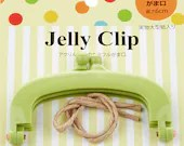Jelly Clip - Green - 4""