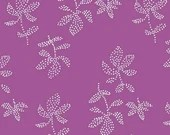 Lotta Jansdotter Fabric - Lucky - Emes in Super Fuchia