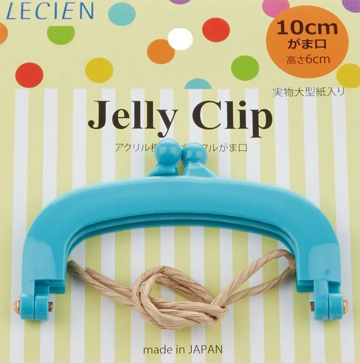 """Jelly Clip - Blue - 4"""""""