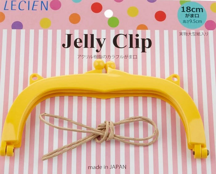 """Jelly Clip - Yellow - 7"""""""