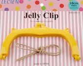 Jelly Clip - Yellow - 7""