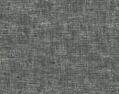 Essex Yarn Dyed Linen Blend - Black