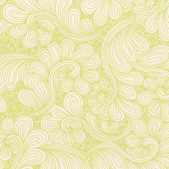Drawn WIDE - Chartreuse - by Angela Walters