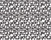 Lotta Jansdotter Fabric - Lilla - Prata in Stone Grey