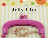 """Jelly Clip - Purple - 4"""""""