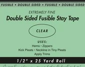"""Double Sided Fusible Stay Tape - 1/2"""""""