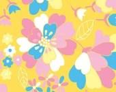 Emma Jean Jansen Fabric - 60's Scrap Bag -  Sophie Yellow