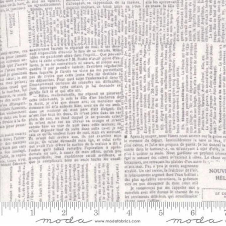 "108"" Compositions Fog by Moda Fabrics"