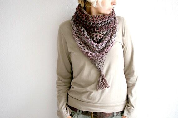 Crochet Cowl Scarf Woman Crochet Scarf Infinity Scarf Tube