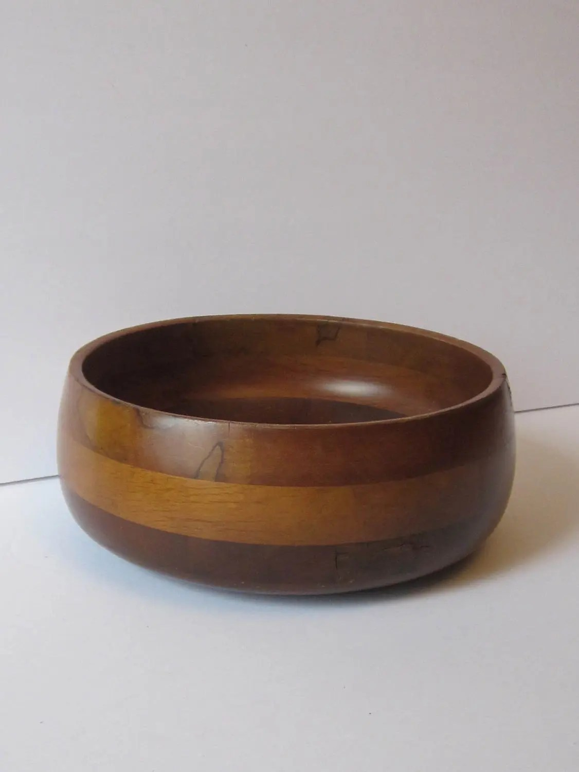 Unusual Fruit Bowls Hand Crafted Exotic 3 Wood Fruit Bowl Or Large Salad