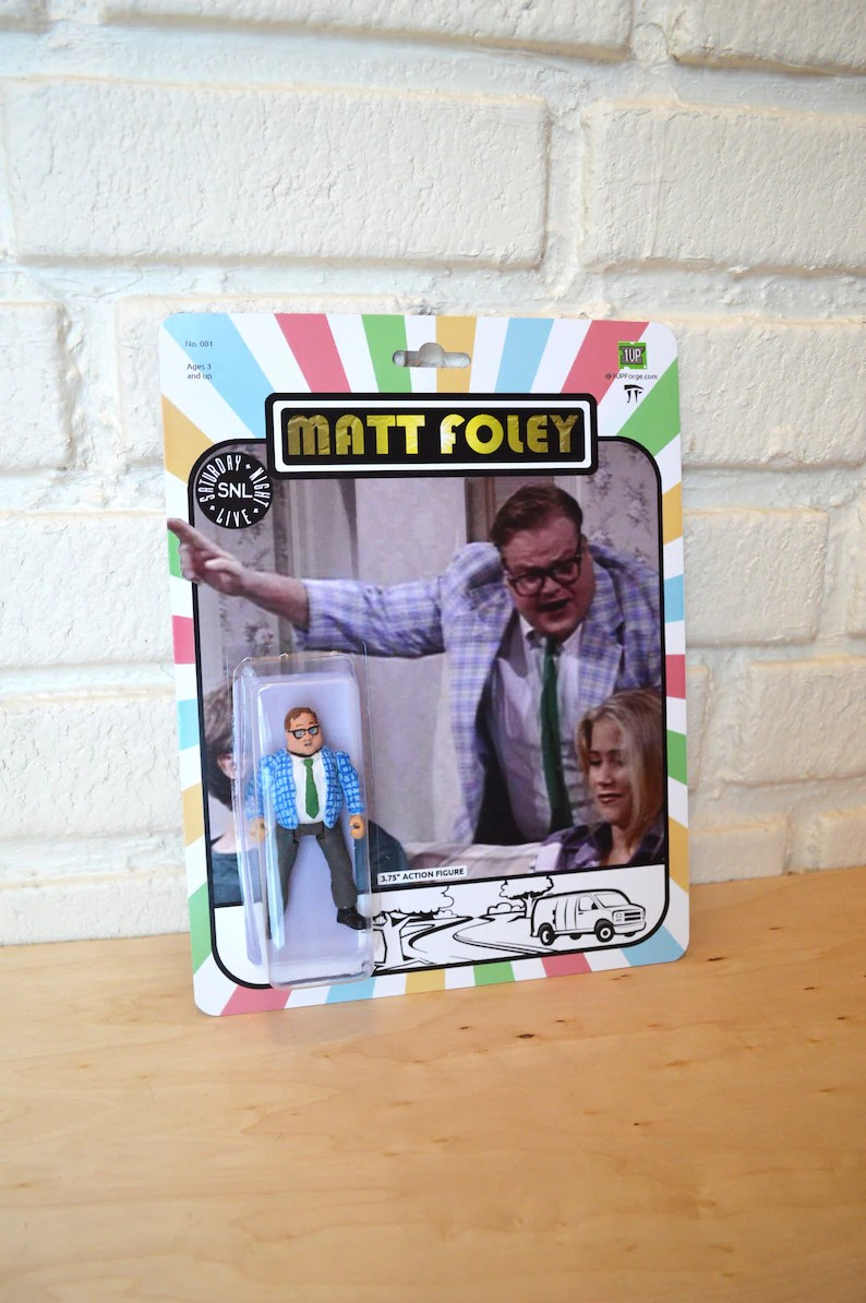 Farley Window Matt Foley Chris Farley Action Figure Handmade Toy