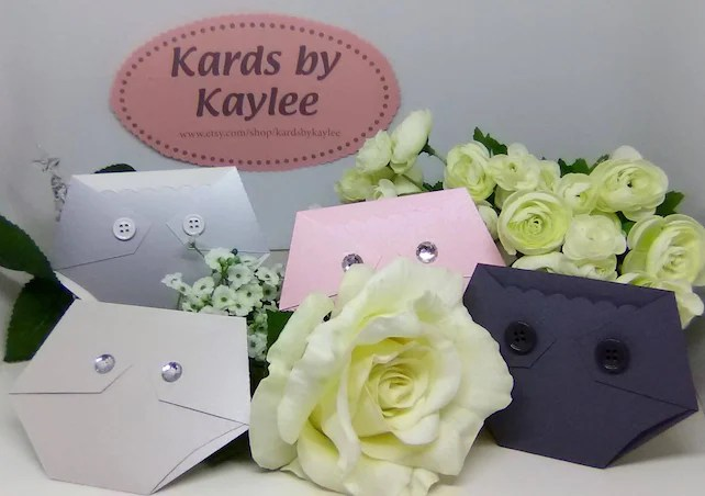 Luxe Gift Card Holder - Baby Shower Prize - Baby Shower Game Gift