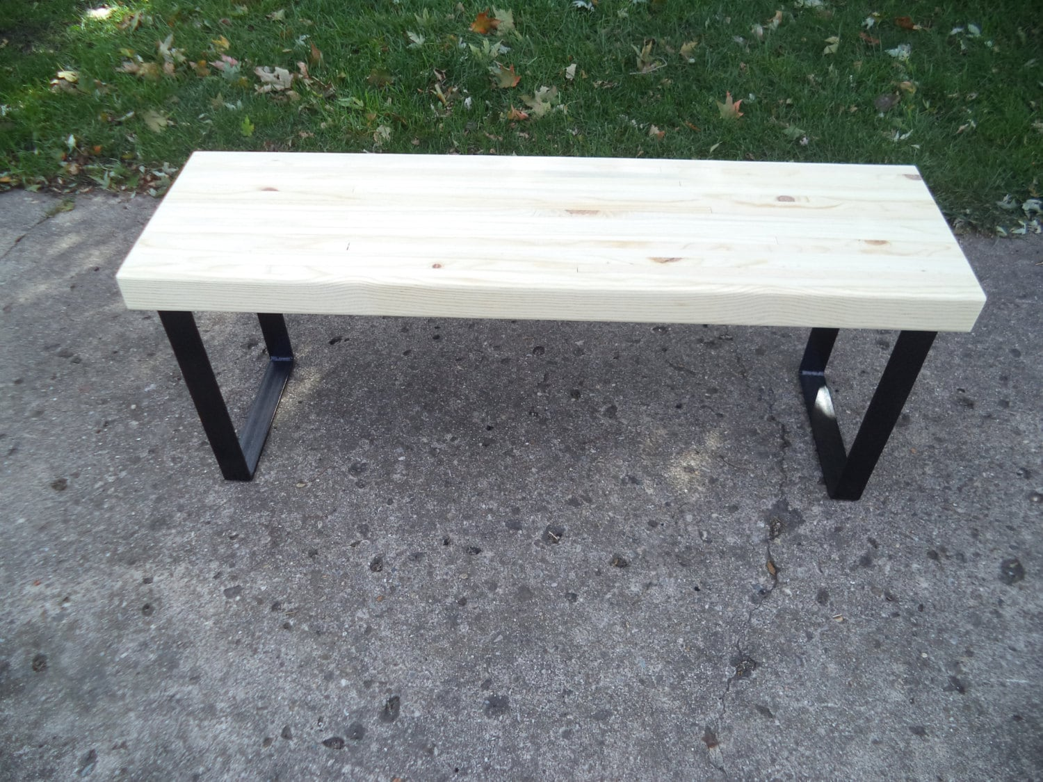 Wooden Bench Table Bench Wooden Bench Coffee Table Industrial Wood And Steel Dining Bench Furniture Metal Legs Entry Bench Hallway Bench Tv Stand