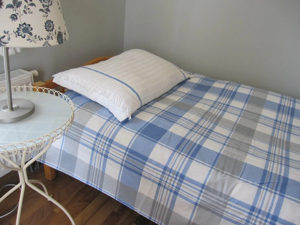 How Big Is A Super King Bed 120x120 120x98 Super King Size Duvet Cover White Gray Blue Tartan Plaid Twin Xl Full Queen King Bedding Doona Cover Quilt Cover