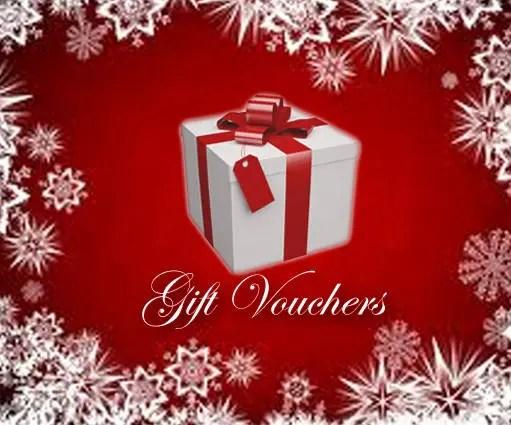 GIFT VOUCHER Christmas gift gift voucher gift certificate Etsy