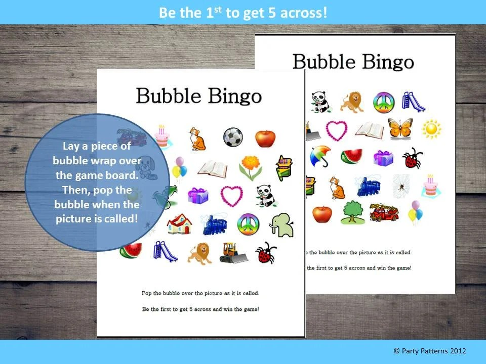 graphic regarding Printable Bingo Game Patterns titled Printable Bingo Types