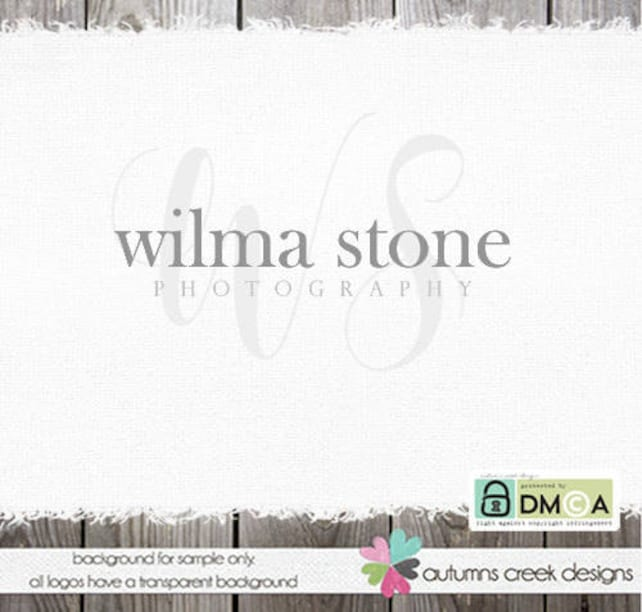 premade logo Photography logo Photography Watermark Text Logo