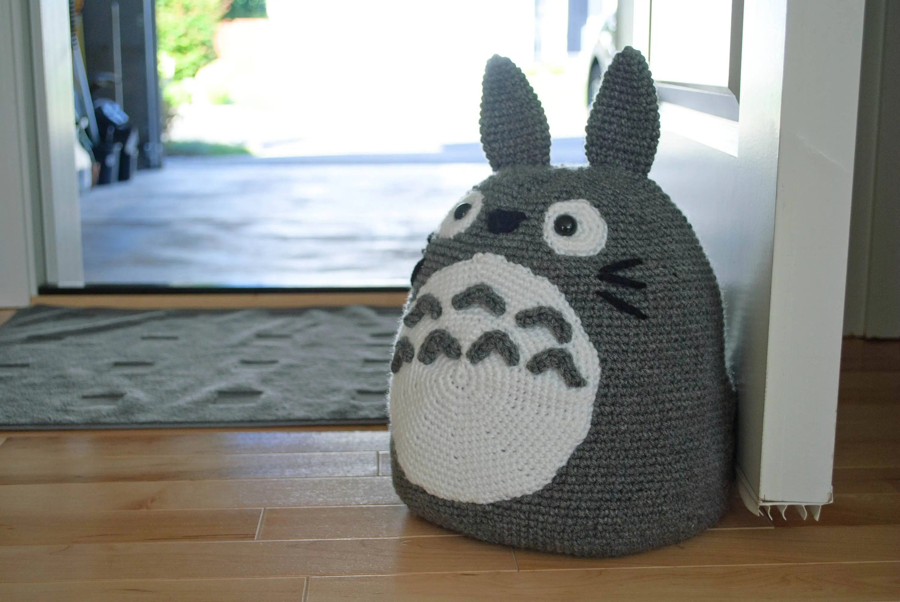 Totoro Bettwäsche Totoro Doorstop Pdf Crochet Pattern Amigurumi Inspired By My Neighbor Totoro