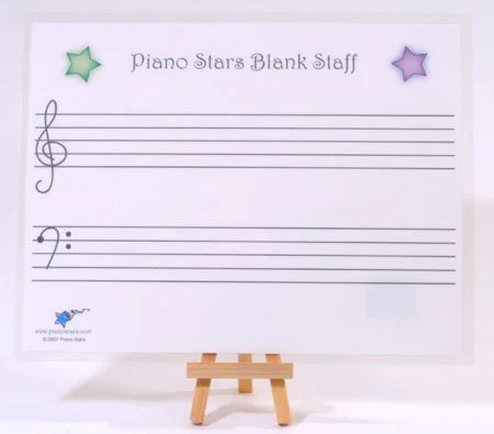 Blank Staff Paper large Etsy