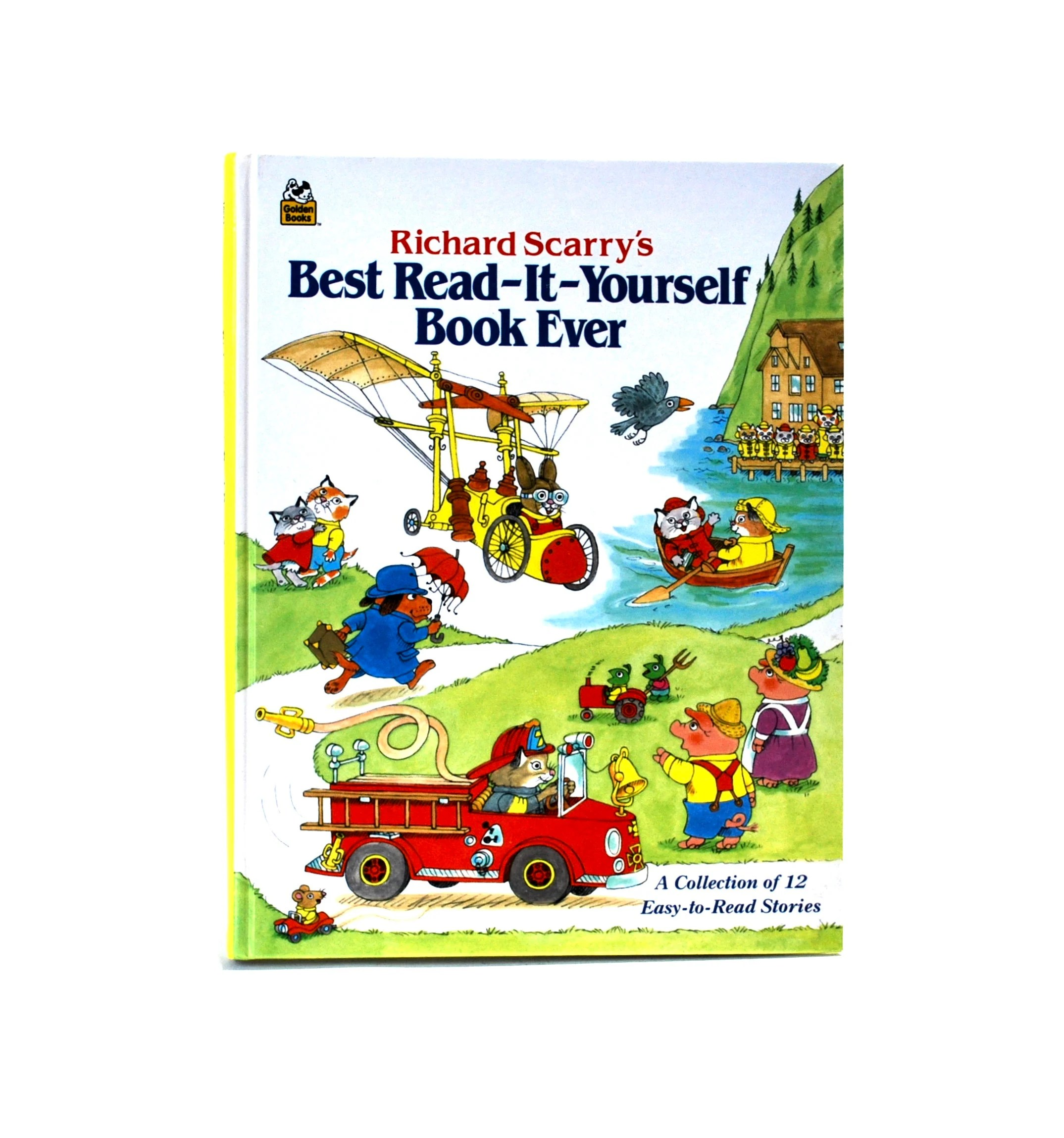 Best Read Ever Richard Scarry S Best Read It Yourself Book Ever 12 Easy To Read Stories Hc