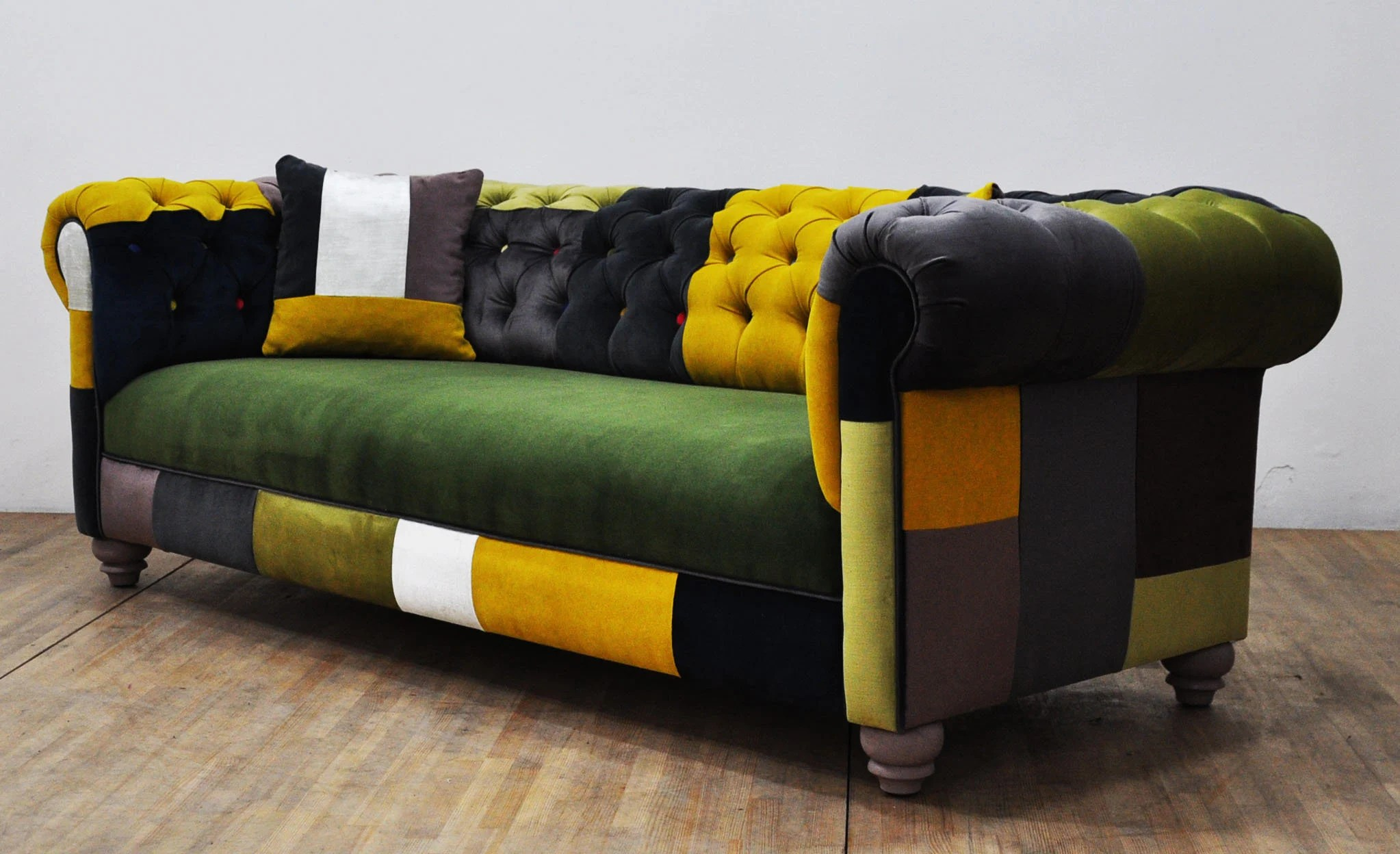 Sofa Palette Chesterfield Patchwork Sofa Color Palette