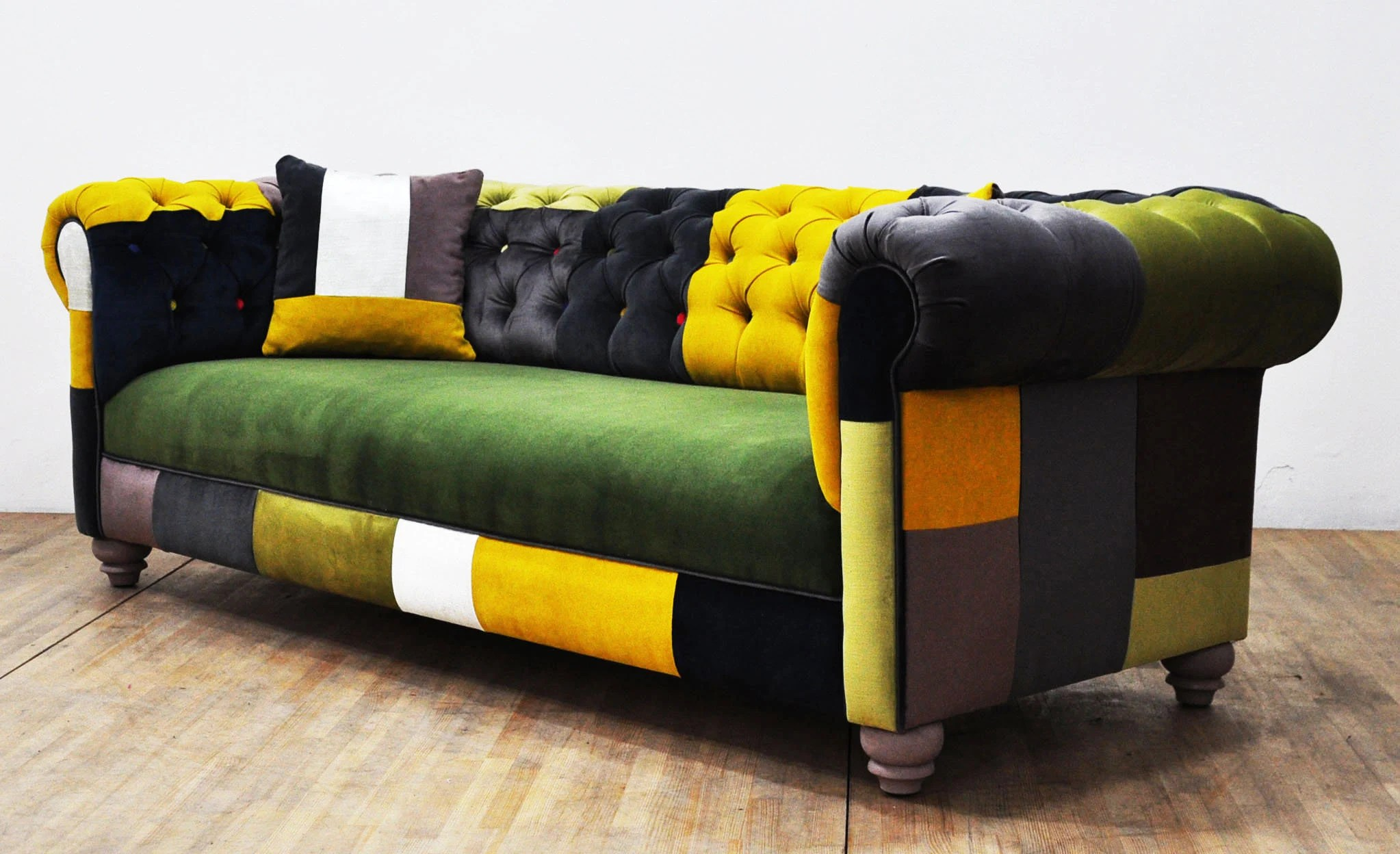 Patchwork Sofa Chesterfield Patchwork Sofa Color Palette
