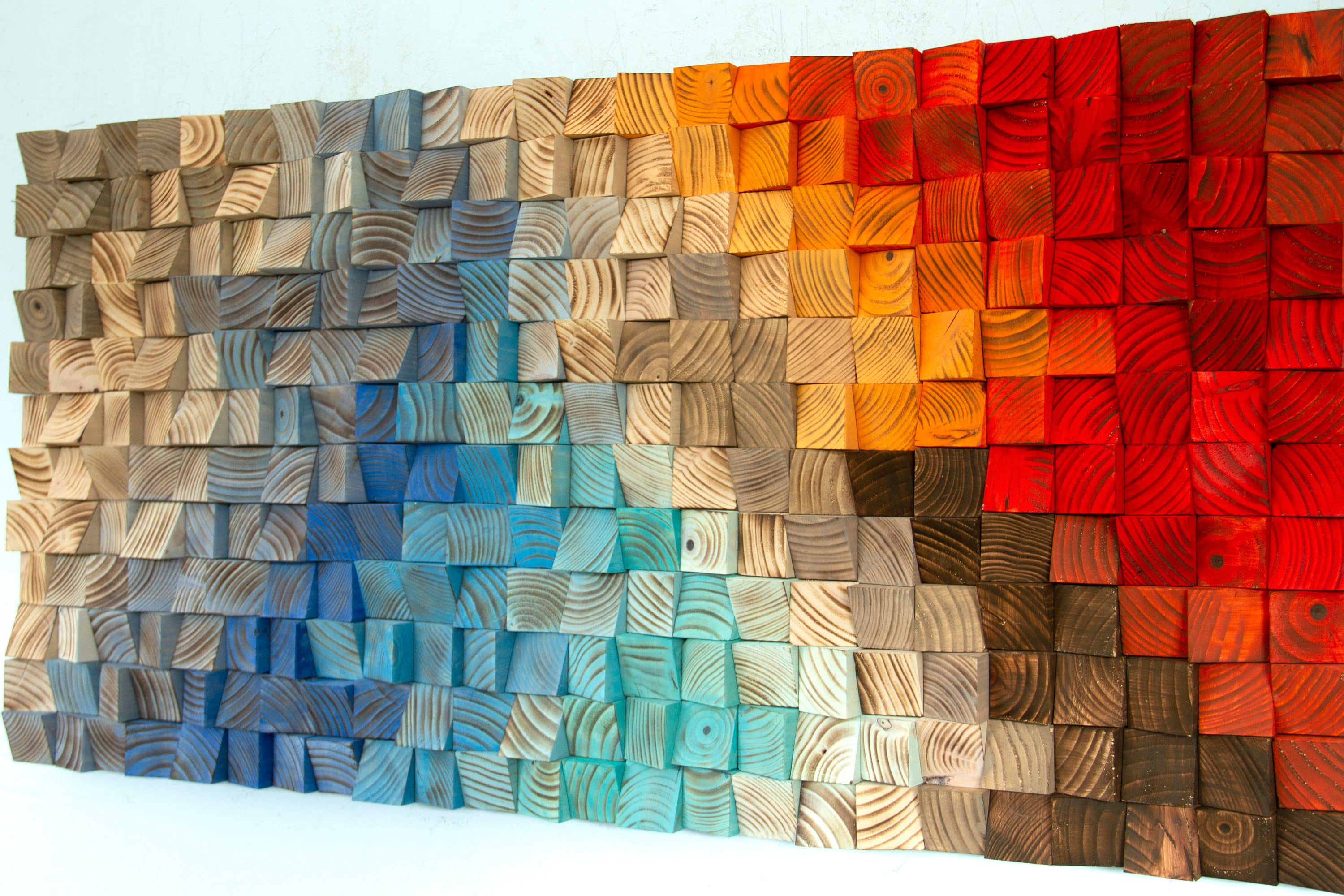 Abstract Wood Wall Art Rainbow Wood Wall Art 2019 Trends Abstract Painting On Wood