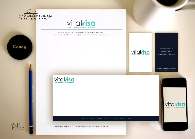 Business Stationary Letterhead design envelope design Etsy - letterhead and envelope design