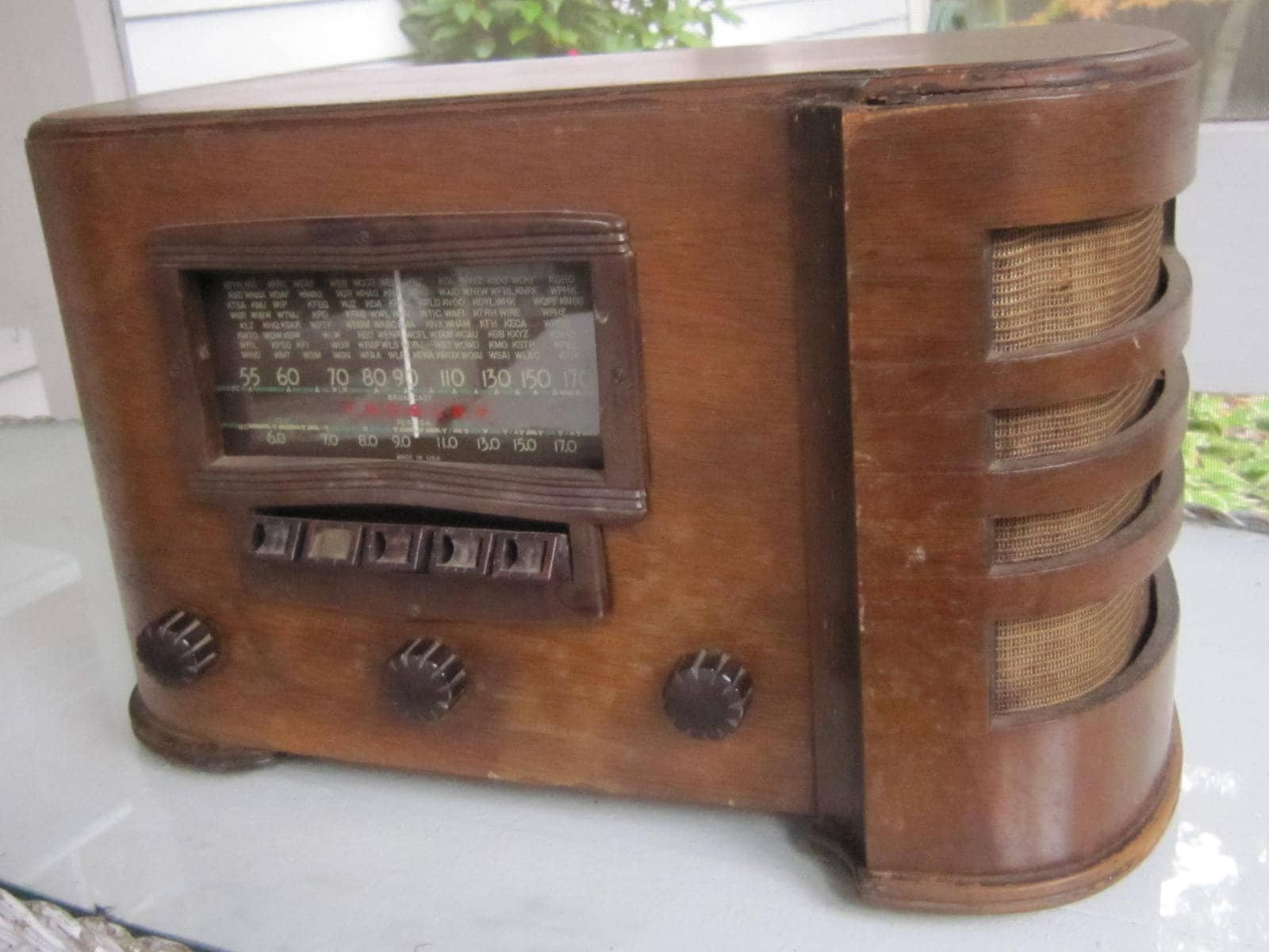 Crosley Radio Antique Crosley Table Radio