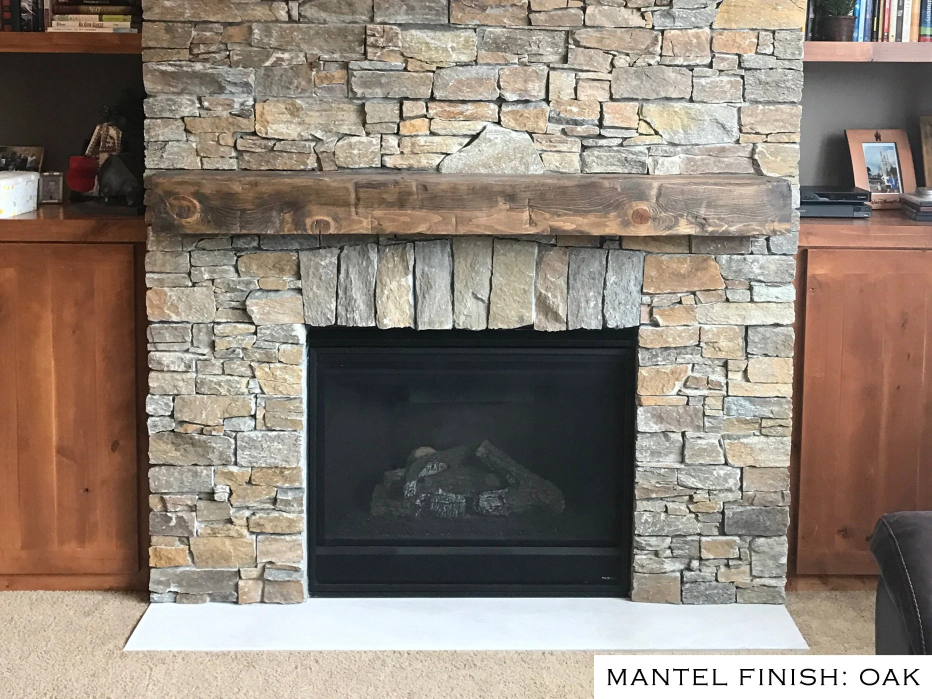 Fireplace Beam Mantel Barn Beam Mantel 6