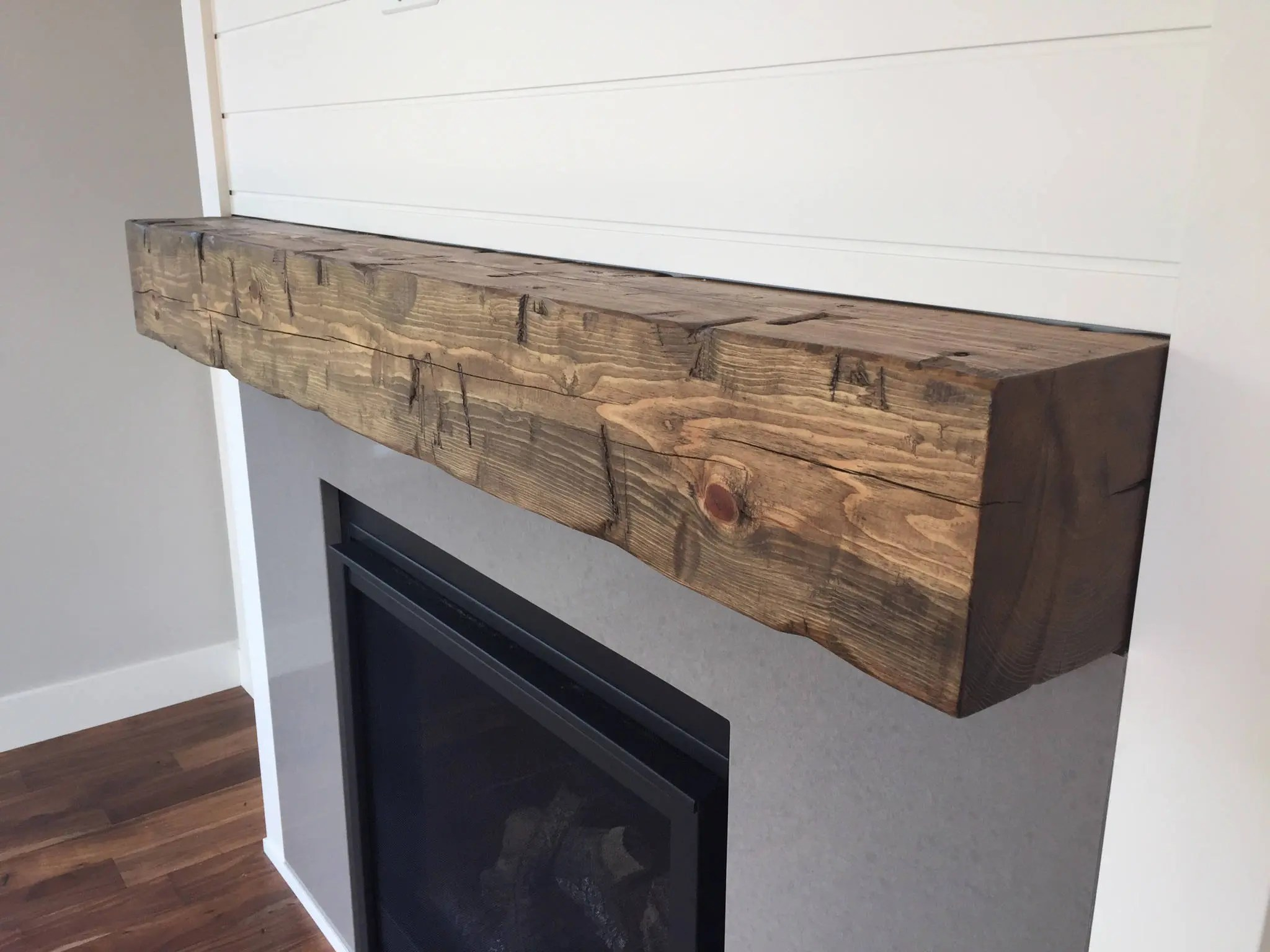 Fireplace Beam Mantel Fireplace Mantel Barn Beam Mantel Wooden Beam Mantel 8