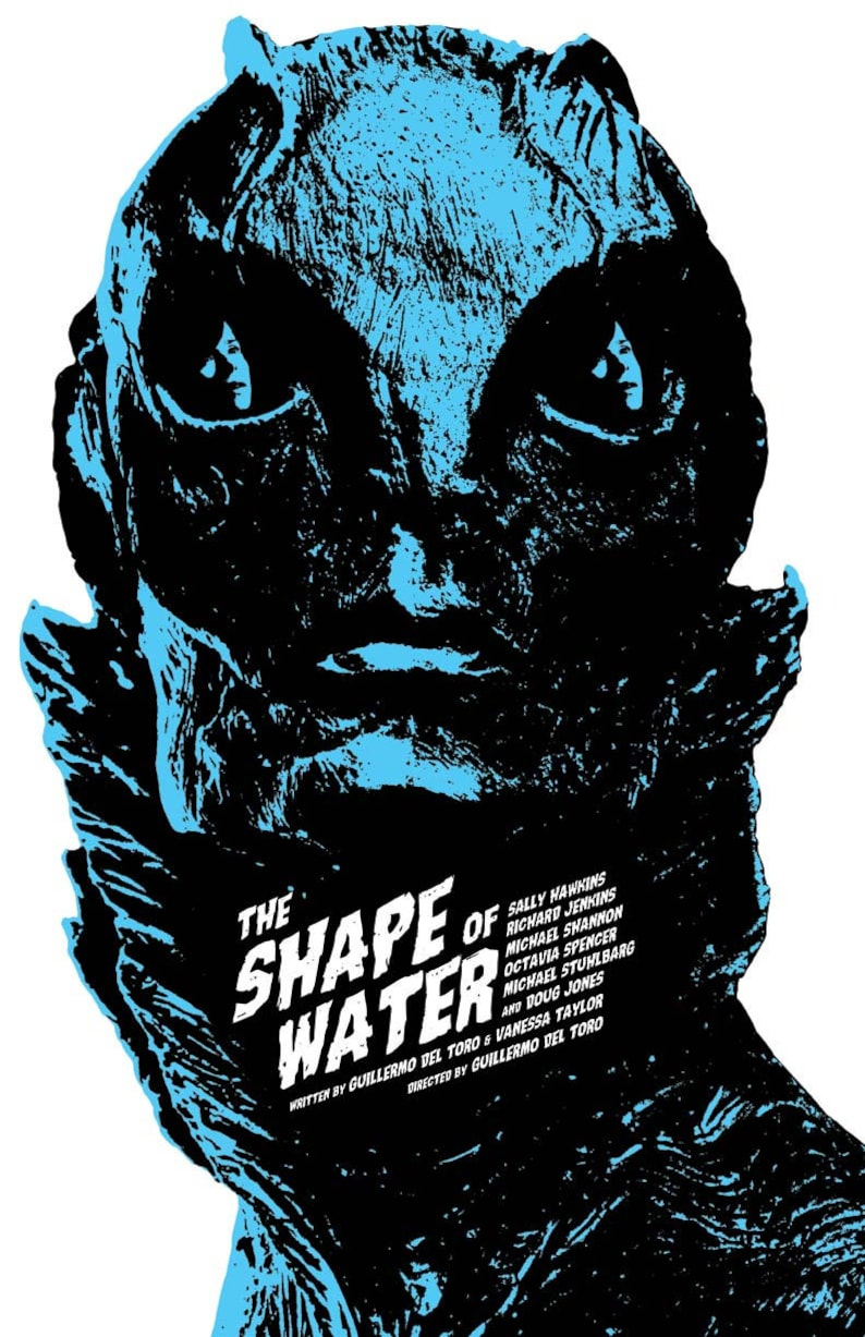 Design Stuhl Toro The Shape Of Water Film Poster