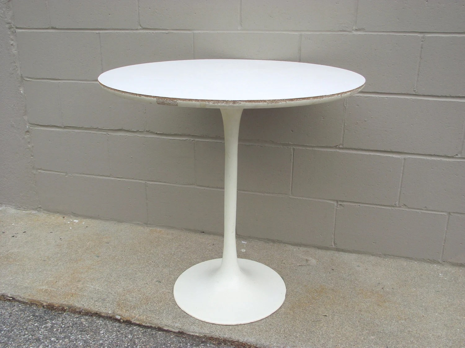 Saarinen Knoll Table 1960 S Saarinen Knoll Burke Tulip Table Mid Century Modern American Retro 30