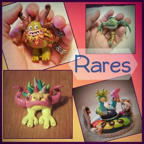 My Singing Monsters Buddies Rare and Seasonal Monsters Etsy
