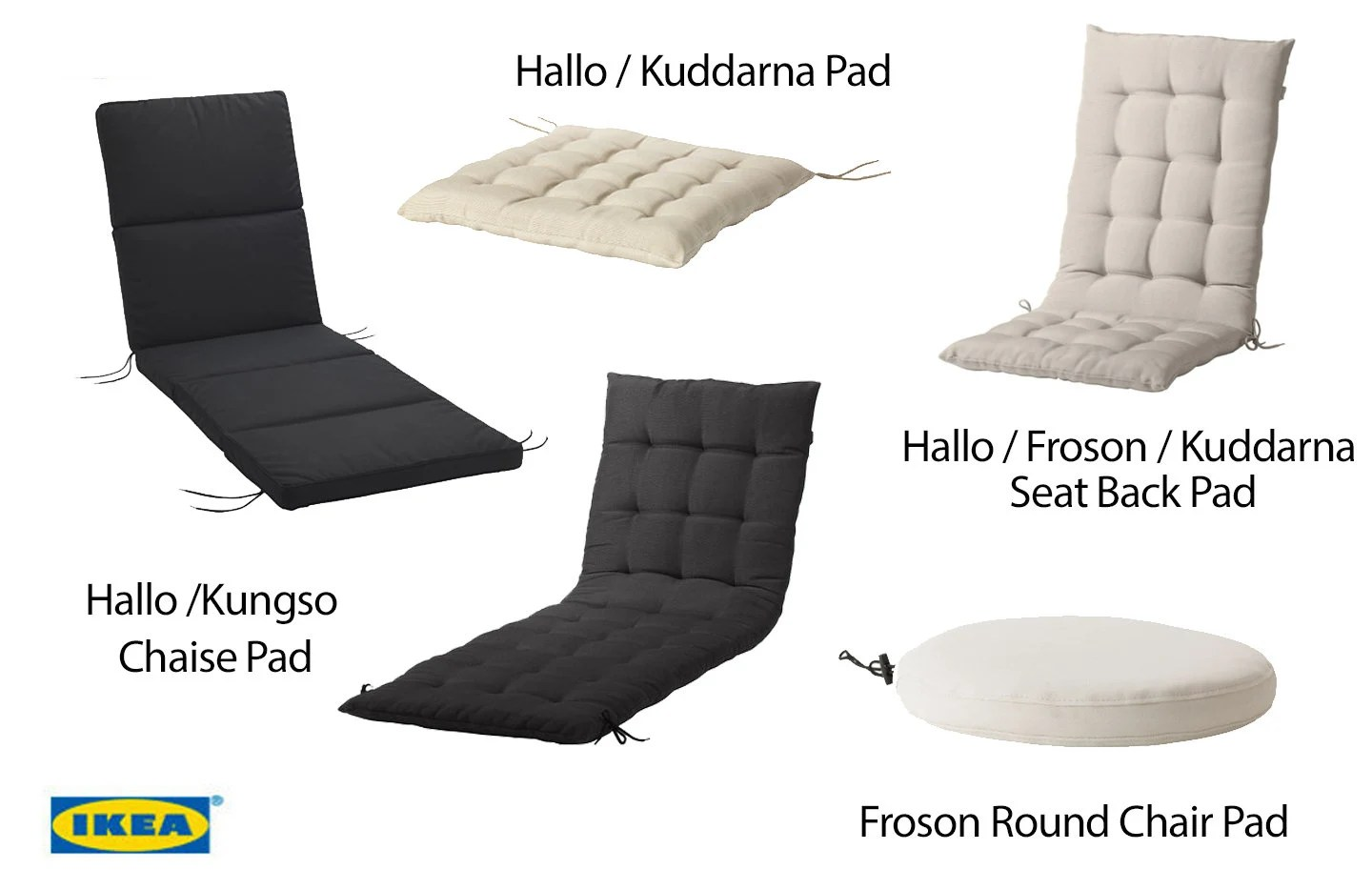 Chaise Martin Ikea Ikea Outdoor Chair Pad Covers Hallo Kungso Kuddarna Froson Slip