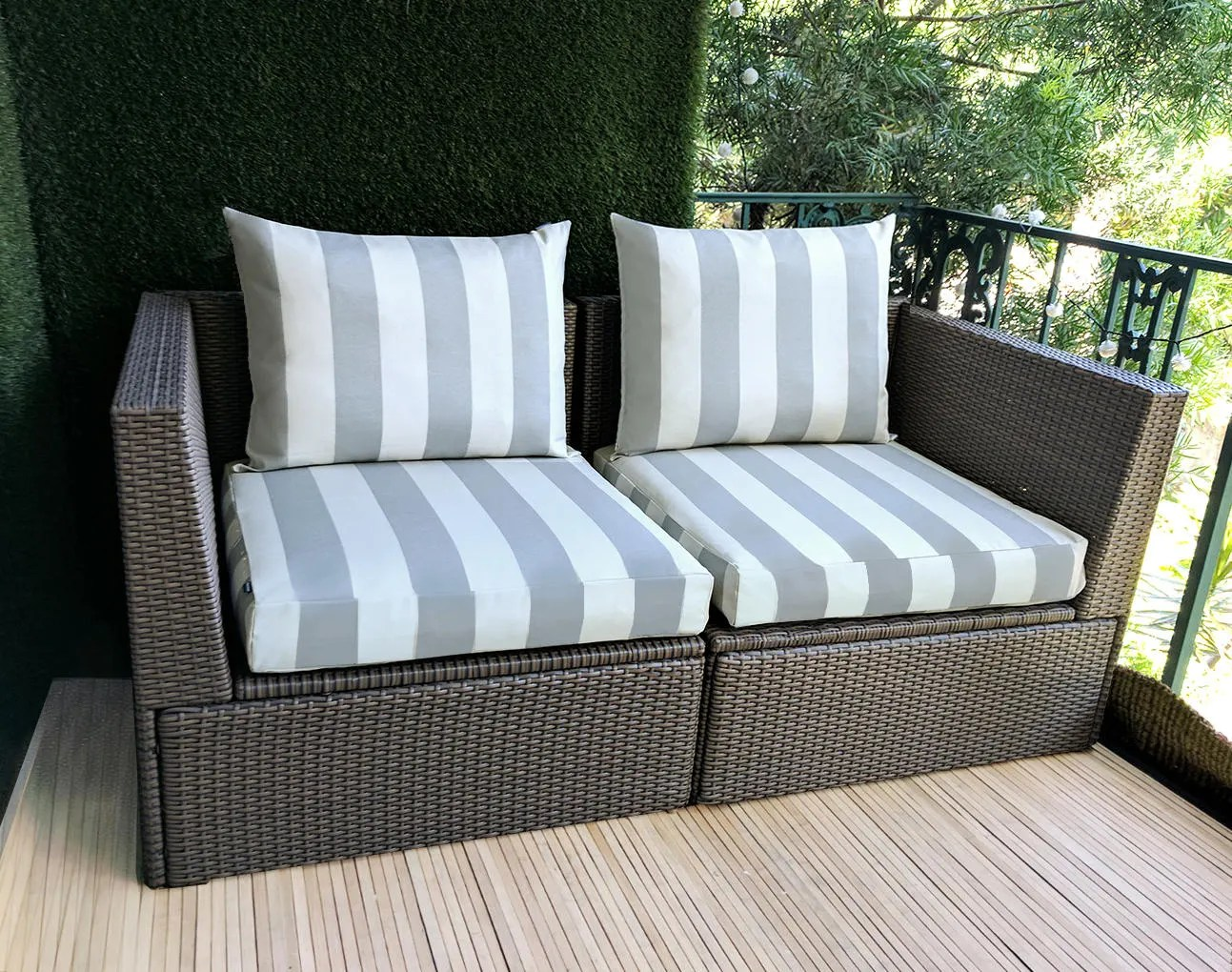 Outdoor Covers Ikea Outdoor Slip Cover Ikea Kungso Cushion Covers Custom Kungso Ikea Decor Bespoke Arholma Covers Gray Canopy Stripe