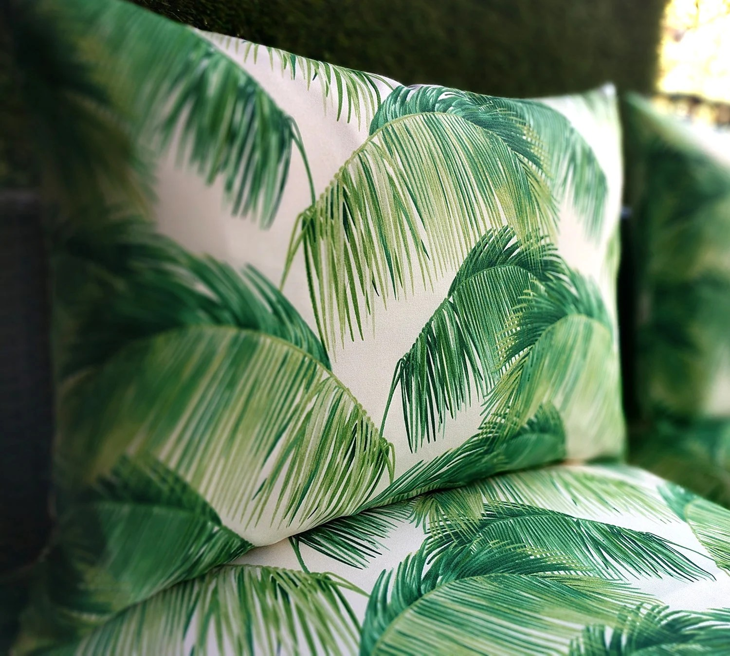 Ikea Palm Tree Ikea Outdoor Cushion Covers Tropical Palm Leaves Slip Cover Ikea