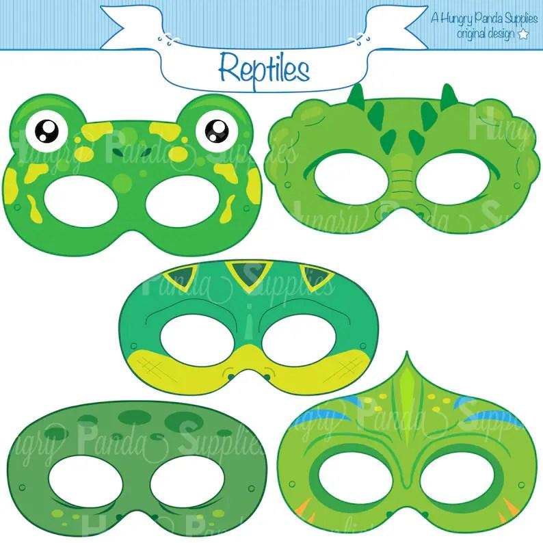printable crocodile mask alligator mask template